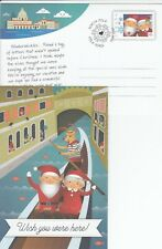 CANADA SANTA CLAUS AFTER XMAS POST CARD FRENCH & ENGLISH MINT - 2017 EDITION