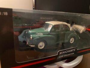 MINICHAMPS 1/18 Morris Minor Cabriolet