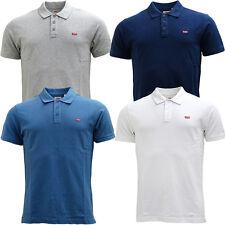 Mens Levi Strauss Polo Shirt Smart / Casual Polo Top