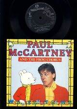 Paul McCartney and the Frog chorus - We All Stand Together - 7 Inch Vinyl - UK