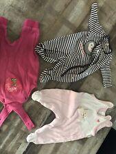 Erstausstattung Baby/Neugeborene Bekleidungspaket 50/56 Mädchen, 57 Teile