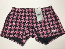 Asics Women's Digital Frog Reversible Short Volleyball Running Gym Size L