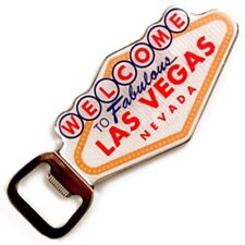 Welcome To Las Vegas Sign Casino Magnetic Bottle Opener Beer Bottle Soda Magnet