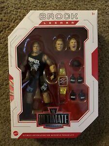 "WWE Mattel Ultimate Edition Action Figure Brock Lesnar ""The Beast Incarnate"""