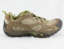 Merrell Azura Kangaroo Brown Shoes Women's Size 7.5 Hiking Walking Tan Cushion