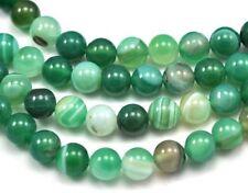 Cuentas sueltas de joyería redondas color principal verde