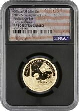 2019 Rocketship Sacagawea PF70 NGC Ultra Cameo Early Release