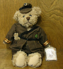 "Ganz Cottage GOOD LUCK TEDDY by Lorraine Chien NEW/Tag From Retail Store 12"" LE"