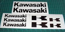 kawasaki Decals set of 9 Graphics Stickers Bumper Motorcycle Bike Road R 450