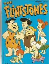 Patons Knitting Pattern 529 Flintstones Intarsia 4 designs Fred Barney Wilma +
