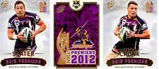 Select 2012 Storm NRL Premiership Commemorative Card Set (25)