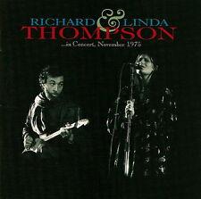 Richard & Linda Thompson: ... In Concert, November 1975 - CD (2007)