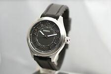 FOSSIL Herrenuhr BQ1045  top Uhr schwarzes Silikon Armband breit  NEU