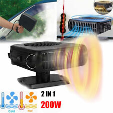 12V 200W 2 in1 Car Portable Ceramic Heater Cooler Dryer Fan Defroster Demister