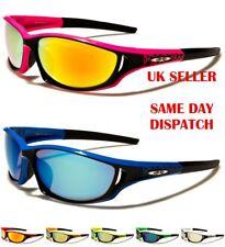 Xloop Sport Wrap Around Designer Mens Womens Mirrored Sunglasses 100%UV400 2489