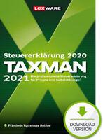 Lexware Taxman 2021 (für Steuerjahr 2020), Download (Key), Windows (PC)