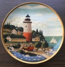 Royal-Doulton-Summer-Seap ort-Limited-Edition-Plate- Franklin Mint Bone China