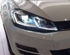 FARI ANGEL EYES CROMO LED FRECCE LED DINAMICHE VW GOLF 7.5 RESTYLING DAL 02/2017