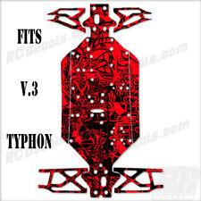 Arrma Typhon 6S V.3 (2018) - Chassis Protector Graffiti