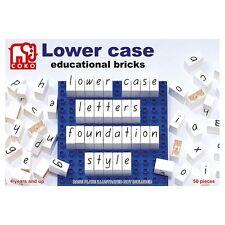 COKO Bricks Letters Lowercase 50 pieces Literacy Homeschool Teacher Resources