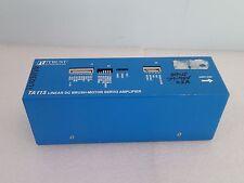 WARRANTY Trust Automation TA115 Linear DC Brush-Motor Servo Amplifier