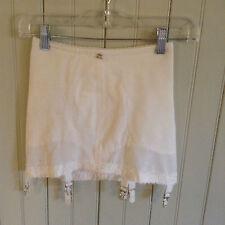 Vintage 2500 Subtract open bottom girdle w/ 6 garters  size 28