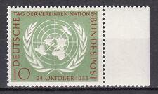 BRD 1955 Mi. Nr. 221 Postfrisch mit Seitenrand TOP!!! (21534)