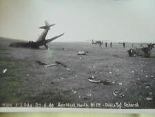 ARMEE DE L'AIR 1940 MAROC 3ème SPA North American Aviation NAA-57-P-2 / CRASH