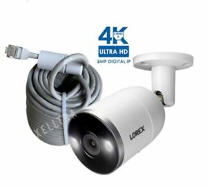 Lorex 4K Ultra HD Smart Deterrence IP Camera with Smart Motion Plus