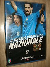 DVD N° 9 LA GRANDE STORIA DELLA NAZIONALE ITALIANA