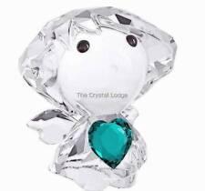 SWAROVSKI CRYSTAL BIRTHSTONE ANGEL DECEMBER BLUE TEAL LTD ED OF 500 MINT 5041825