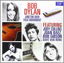 Bob Dylan And The New Folk Movement 2 LP (NEW)
