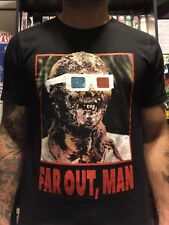 Zombie 2 Zombi Lucio Fulci Shirt Parody Gore Horror 3D stoner med-xxl