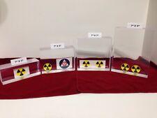 "Bicron BC412 Plastic Scintillator Block 7"" X 7"" X 2.25"" for Radiation Detection"