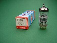 E88CC Telefunken <> Gold Pin Tube / Röhre NOS ( 6DJ8 ECC88 ) -> tube amp