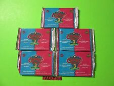 1992 COMIC BALL 3 COLLECTOR CARDS UNOPENED PACKS LOT OF (5)