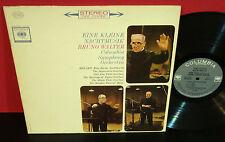 BRUNO WALTER Mozart: Eine Kleine Nachtmusik COLUMBIA Masterworks 360 STEREO LP