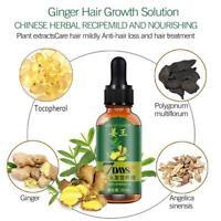 Schnelles Haarwachstum Serum Haarausfall Behandlung Öl Natürliche Essenz