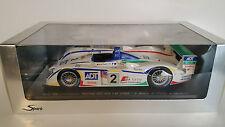 AUDI R8 CHAMPION RACING N°2 3rdLM 2005 SPARK SCALA 1:18