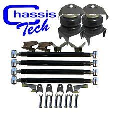 Weld On Triangulated Heavy Duty 4 Link Rear Brackets 3800 Bags 35 Axle