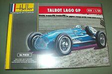 Heller Talbot Lago GP 1:24 escala kit plástico