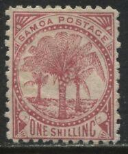Samoa 1886 1/ rose carmine mint o.g.