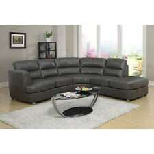 Leather Sectional Sofas Loveseats Chaises Ebay