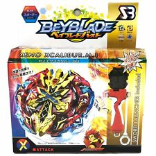 Beyblade Burst Xeno Xcalibur Excalibur Starter Pack w/Launcher+Grip B-48 1pc Hot