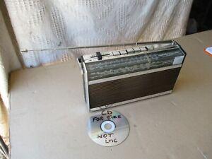 VINTAGE GRUNDIG MELODY BOY 500 PORTABLE RADIO.  FM, LW, MW & SW
