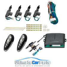 Universal*REMOTE* Keyless Central Door Locking Kit For Van With 1 x Sliding Door