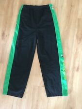 Kids CANBERRA RAIDERS Tracksuit Pants Size 10 NRL Childs Black