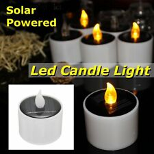 Flameless LED Candle Solar Energy Flickering Tea Lights Battery Operated