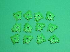 PLAYMOBIL lot 12 petit feuillage accessoire pour vegetation bouquet fleur arbre