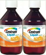 Centrum Liquid Multivitamin - Multimineral Citrus 8oz ( 2 pack ) 3/20
